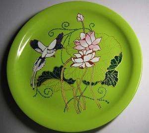 rospis posudy 2 300x267 Красивая посуда своими руками